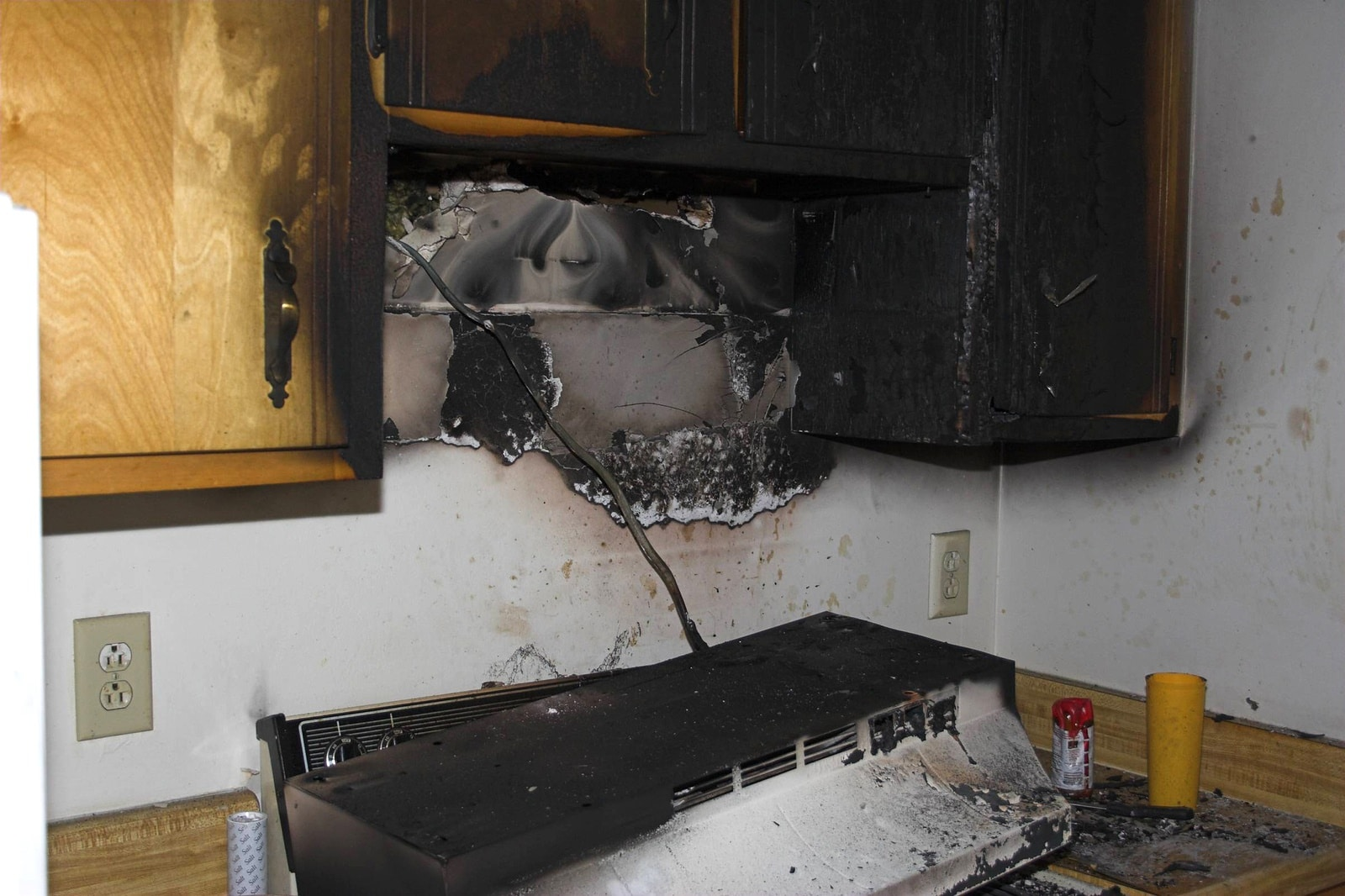 Emergency water storm mold restoration services hcf - How to repair water damaged kitchen cabinets ...