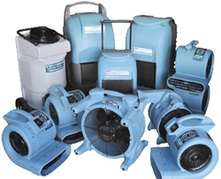 water removal and dryout equipment
